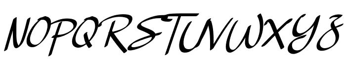 Basella Font UPPERCASE