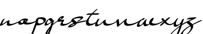 Basella Font LOWERCASE