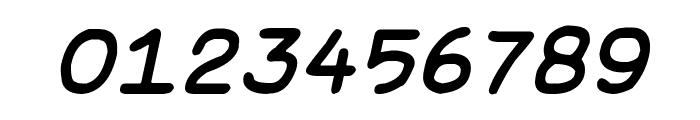 Basic Comical Italic NC Font OTHER CHARS