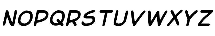 Basic Comical Italic NC Font UPPERCASE