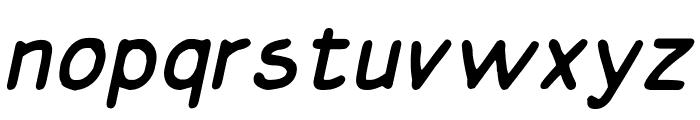 Basic Comical Italic NC Font LOWERCASE
