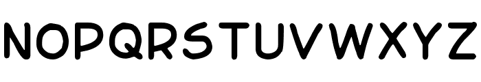 Basic Comical Regular NC Font UPPERCASE