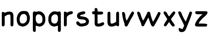 Basic Comical Regular NC Font LOWERCASE