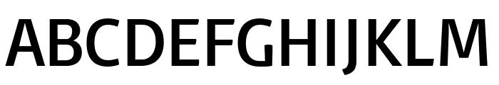 Basic Regular Font UPPERCASE
