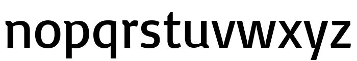 Basic Regular Font LOWERCASE