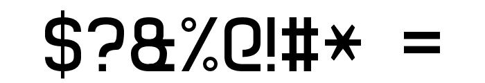 Basic Sans Serif 7 Font OTHER CHARS