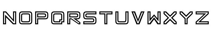 Basic Square 7 Font UPPERCASE