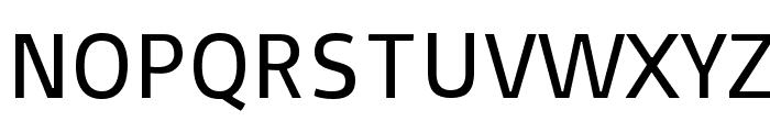 Basic Font UPPERCASE