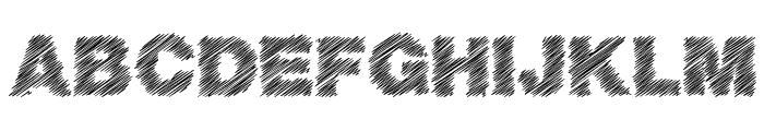 BasicScratch Font UPPERCASE