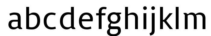 Basic Font LOWERCASE