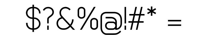 Basicaline Font OTHER CHARS