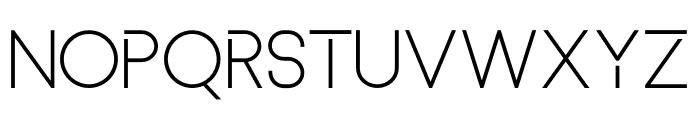 Basicaline Font UPPERCASE