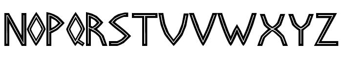 Basileus Font UPPERCASE