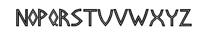 Basileus Font LOWERCASE
