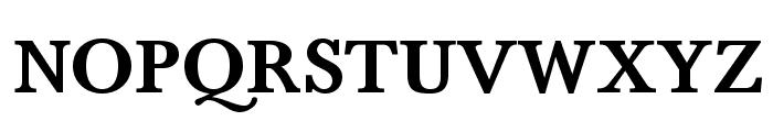 BaskervaldADFStd-Bold Font UPPERCASE
