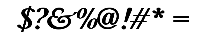 BaskervaldADFStd-BoldItalic Font OTHER CHARS