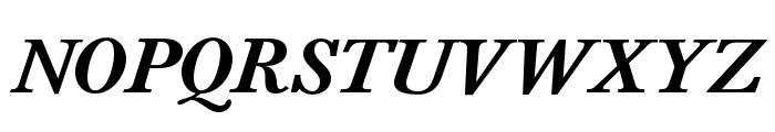 BaskervaldADFStd-BoldItalic Font UPPERCASE