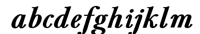 BaskervaldADFStd-BoldItalic Font LOWERCASE