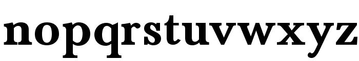 BaskervaldADFStd-Bold Font LOWERCASE