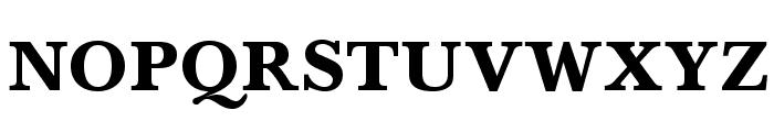 BaskervaldADFStd-Heavy Font UPPERCASE