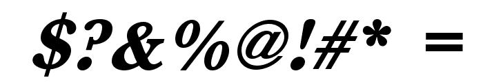 BaskervaldADFStd-HeavyItalic Font OTHER CHARS