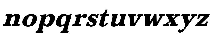 BaskervaldADFStd-HeavyItalic Font LOWERCASE