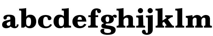 BaskervaldADFStd-Heavy Font LOWERCASE