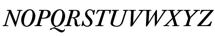 BaskervaldADFStd-Italic Font UPPERCASE