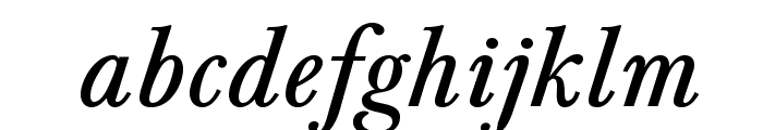 BaskervaldADFStd-Italic Font LOWERCASE