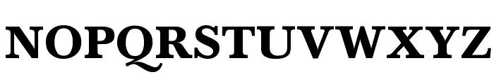 Baskerville-Normal-Bold Font UPPERCASE