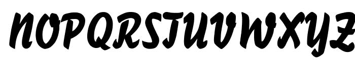 BassScriptOpti Font UPPERCASE