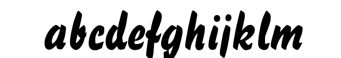 BassScriptOpti Font LOWERCASE