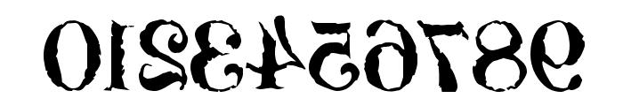 Bassackwards Font OTHER CHARS