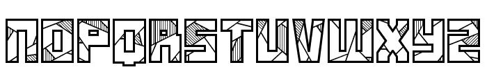 Basscrw Font UPPERCASE