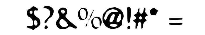 Bastard Font OTHER CHARS