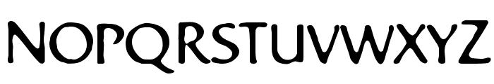 Bastard Font UPPERCASE