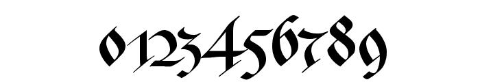 Bastarda-K Font OTHER CHARS