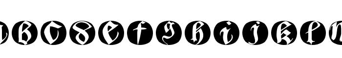 BastardaButtonsBeta Font LOWERCASE