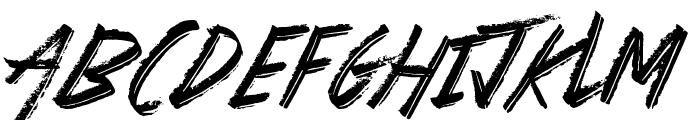 Basterds Font UPPERCASE