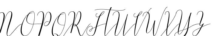 Bastille Day Free Font UPPERCASE