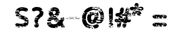Baston-Regular Font OTHER CHARS