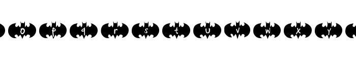 Bat Ben Font LOWERCASE