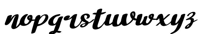 Bathi Italic Font LOWERCASE