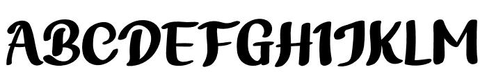 Bathi Font UPPERCASE