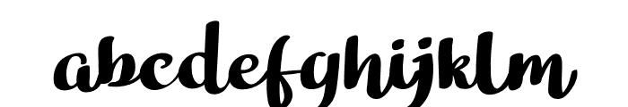 Bathi Font LOWERCASE