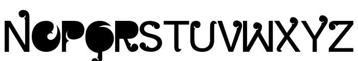 Batik Gangster Normal Font UPPERCASE