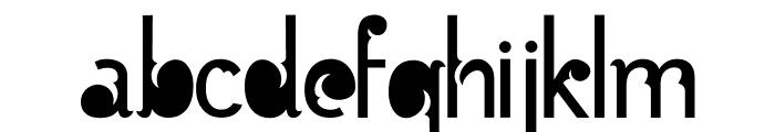 Batik Gangster Normal Font LOWERCASE