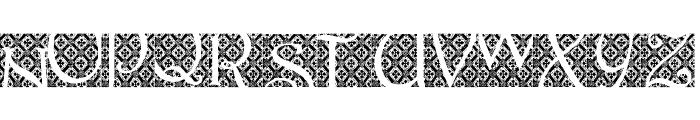Batik Indo Font UPPERCASE