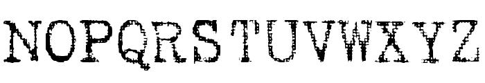 Batik Font UPPERCASE