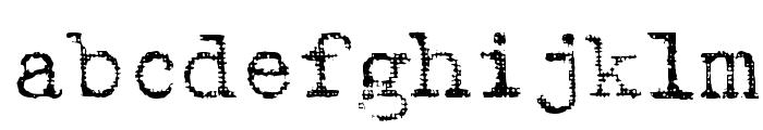 Batik Font LOWERCASE